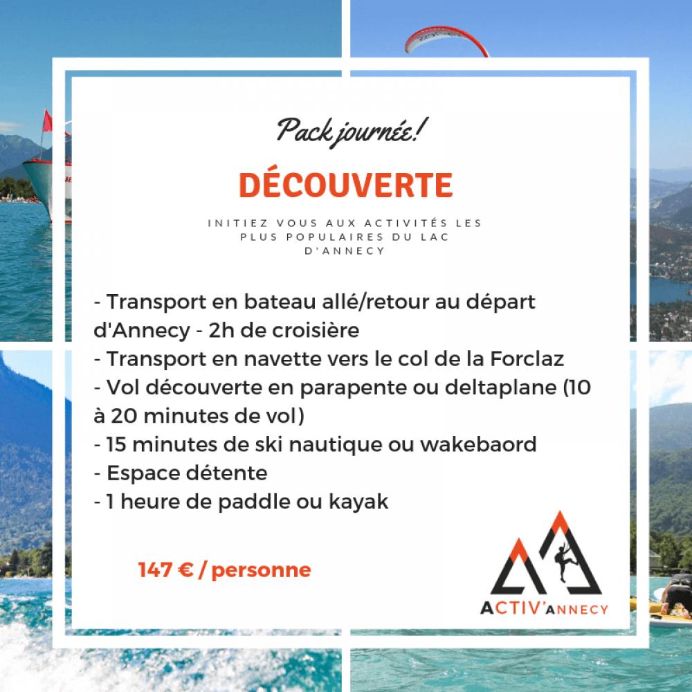 Journée activités à Annecy