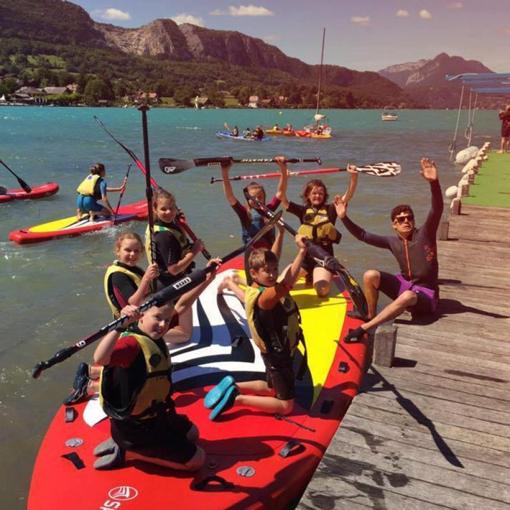stage paddle geant enfant annecy