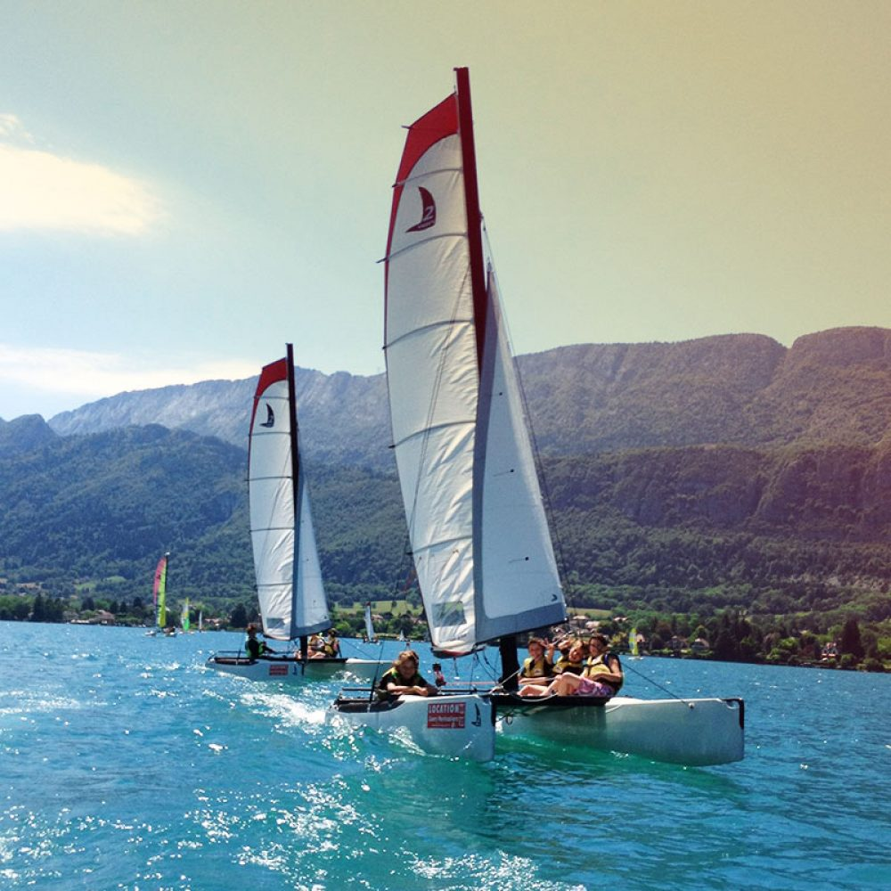 Location catamaran Annecy