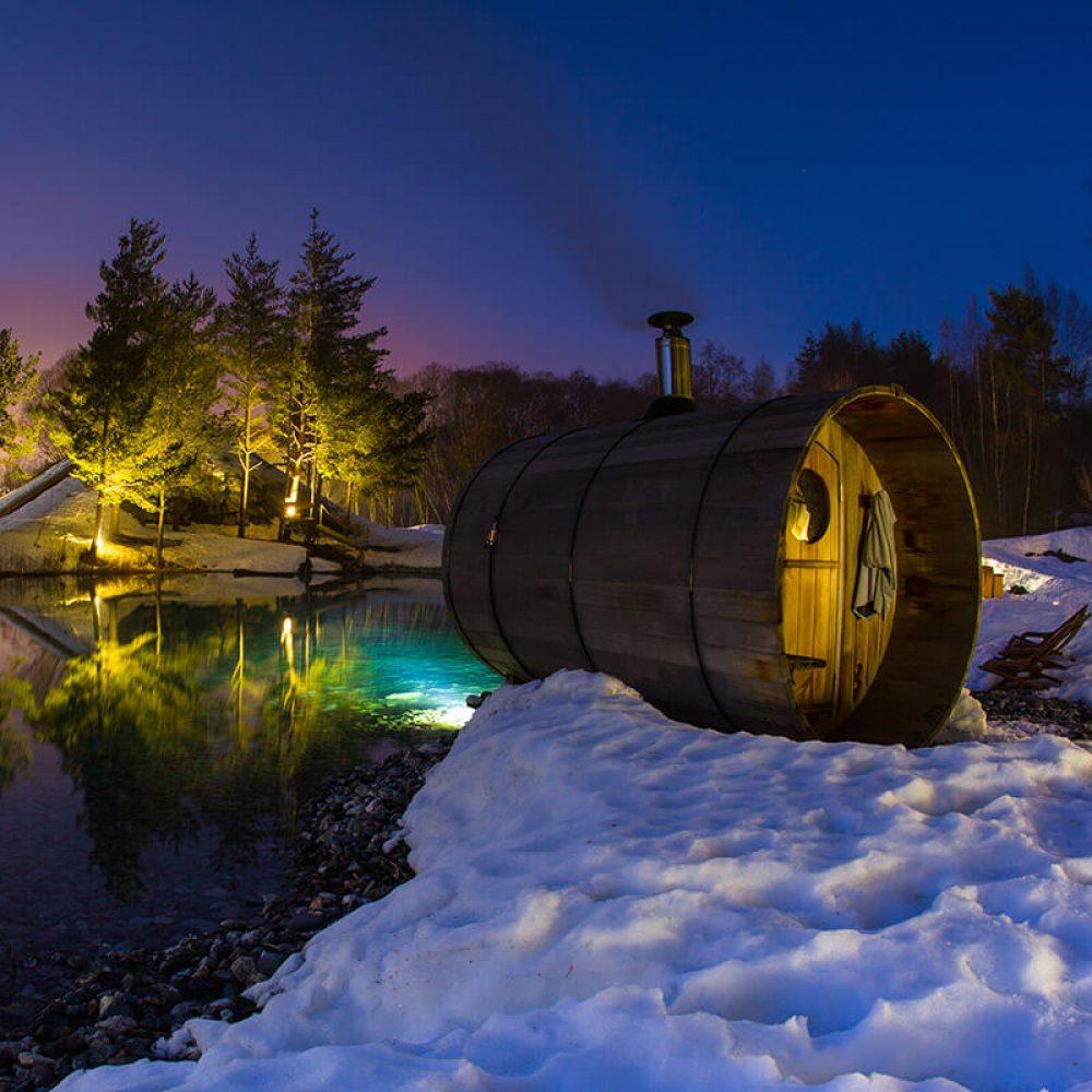 Spa sur lac Val Cenis